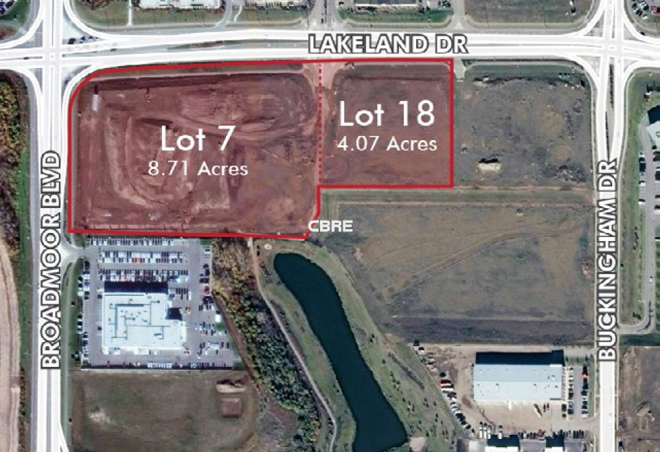 Land Buckingham Business Park Land Broadmoor Boulevard & Lakeland Drive