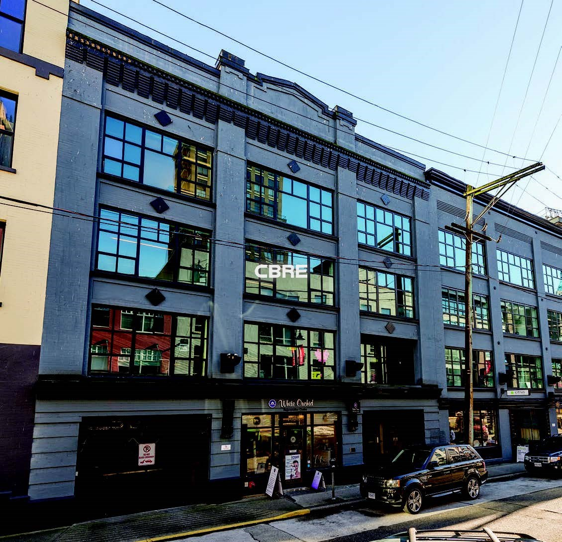 2nd Floor  Yaletown Centre 1040 Hamilton Street